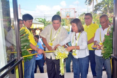 mayor danny toreja inauguration of pangao barangay hall ibaan batangas 9