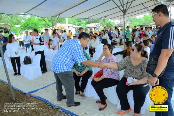 delnor agr food corporation ground breaking ceremony brgy lapulapu ibaan batangas mayor danny toreja july 30 2016 22