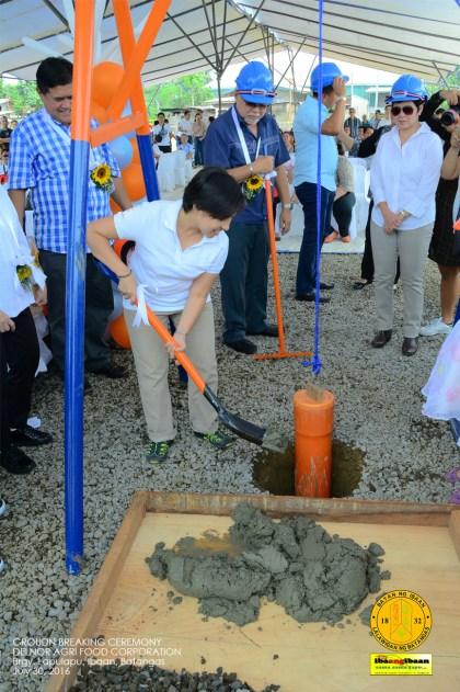 delnor agr food corporation ground breaking ceremony brgy lapulapu ibaan batangas mayor danny toreja july 30 2016 45