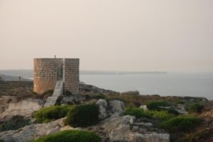La Mola the fortress of Isabel II