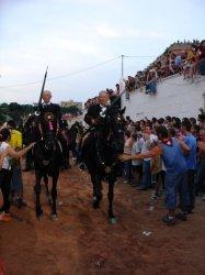 Jocs des pla a les festes de Sant Joan a Ciutadella de Menorca