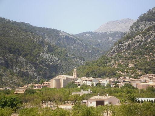Caimari a la Serra de Tramuntana de Mallorca