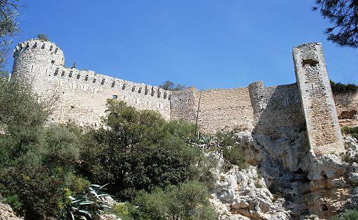 Castell de Santueri a Felanitx, Mallorca