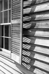 Henry Spring Hill House window shutter