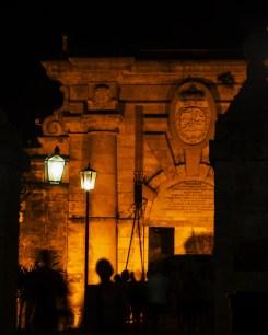 Entrance to Fortress of San Carlos de la Cabana