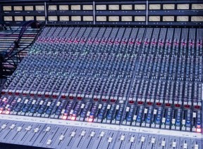 Multitrack mixing console, Abdala Recording Studios