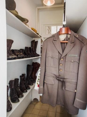 Hemingway's closet