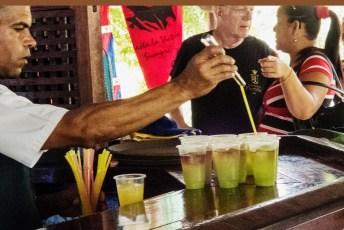 Welcome drink at Las Terrazas