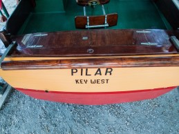 Stern of Hemingway's boat Pilar