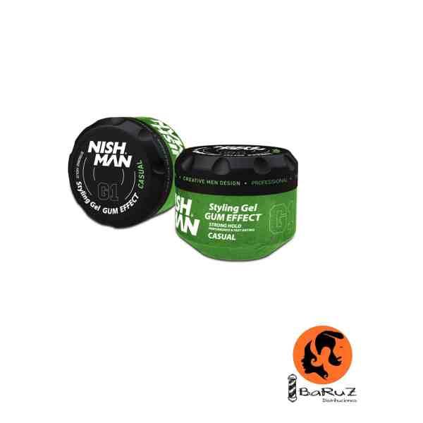 NISHMAN HAIR GEL G2 CASUAL 300 ML