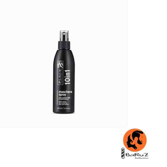 BLACK MASCARILLA EN SPRAY SIN ENJUAGUE 10 EN 1
