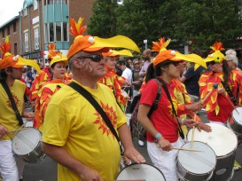 The annual Cowley Road Carnival shows the diversity of the multiethnic city of Oxford