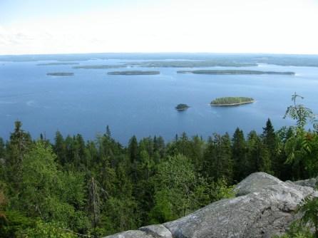 Ukko Koli and Lake Pielinen