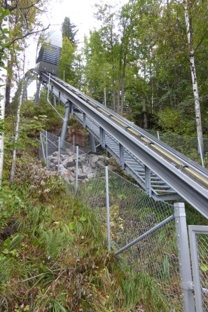 The funicular lift