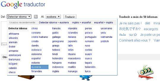 Traductores vascos nativos, traducciones perfectas