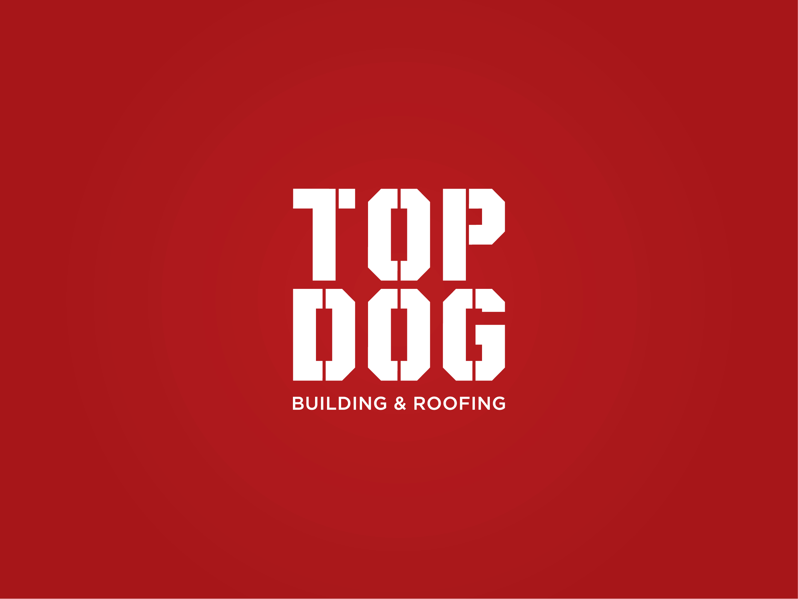 Building and roofing Cardiff logo and branding design