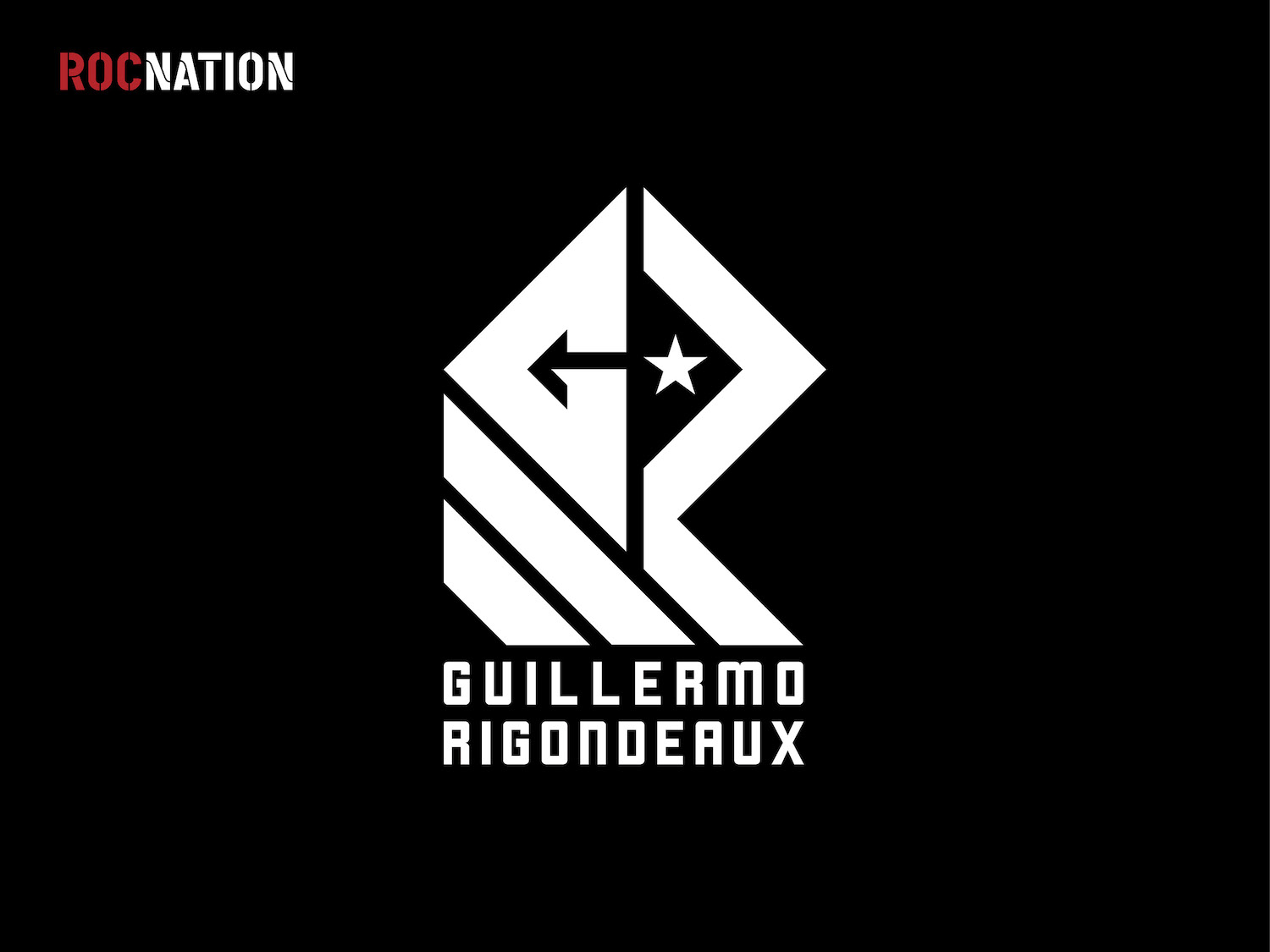 Guillermo Rigondeaux Rocnation athlete logo design