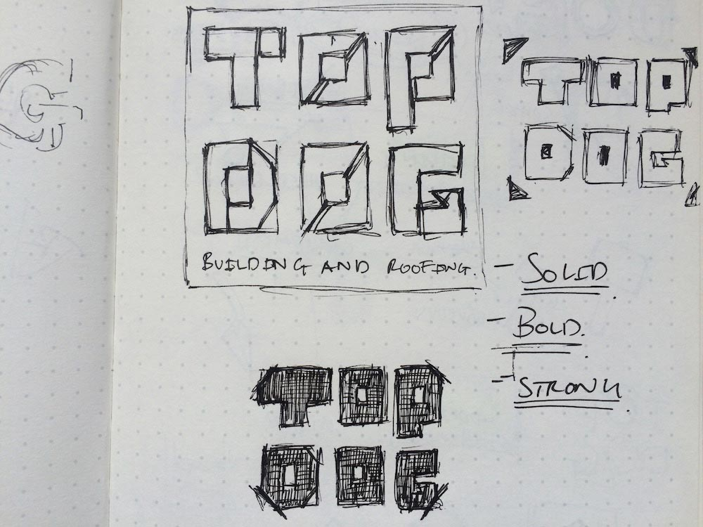 Development of ideas for top dog
