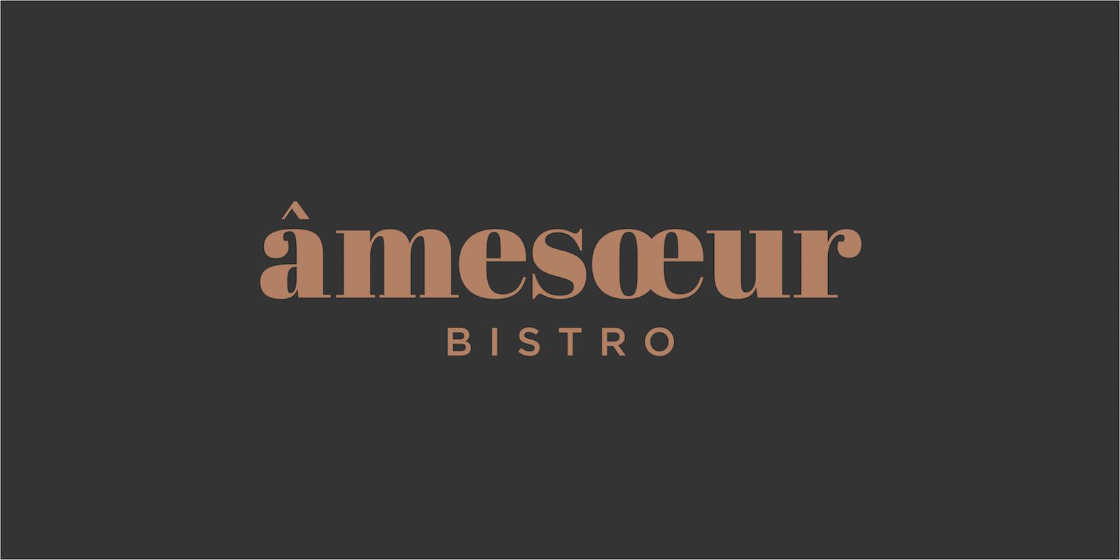 upscale bistro logo design