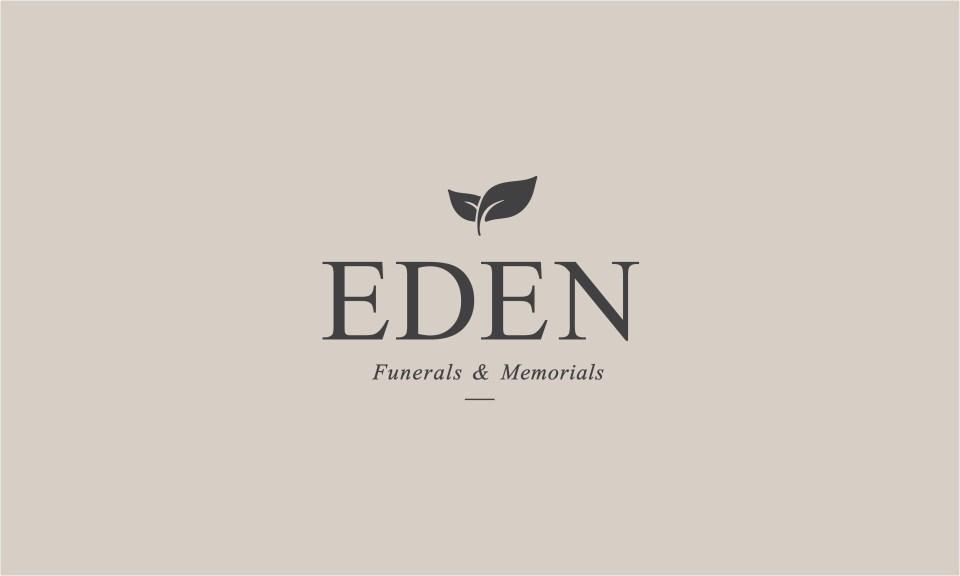 logo design for funerals & memorials service Eden