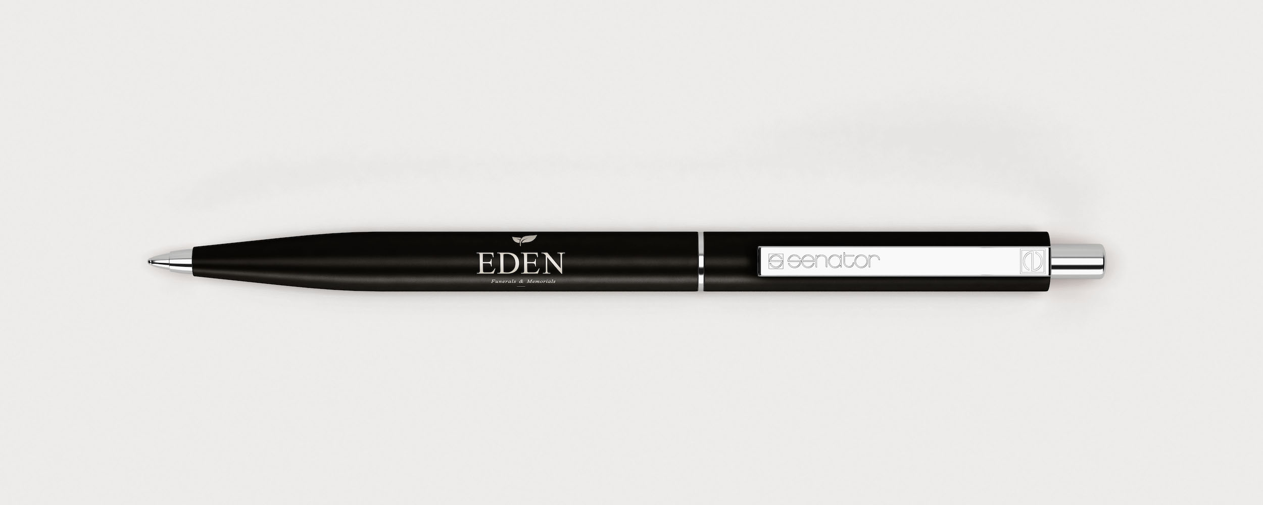 Promotional pen for funerals & memorials service Eden
