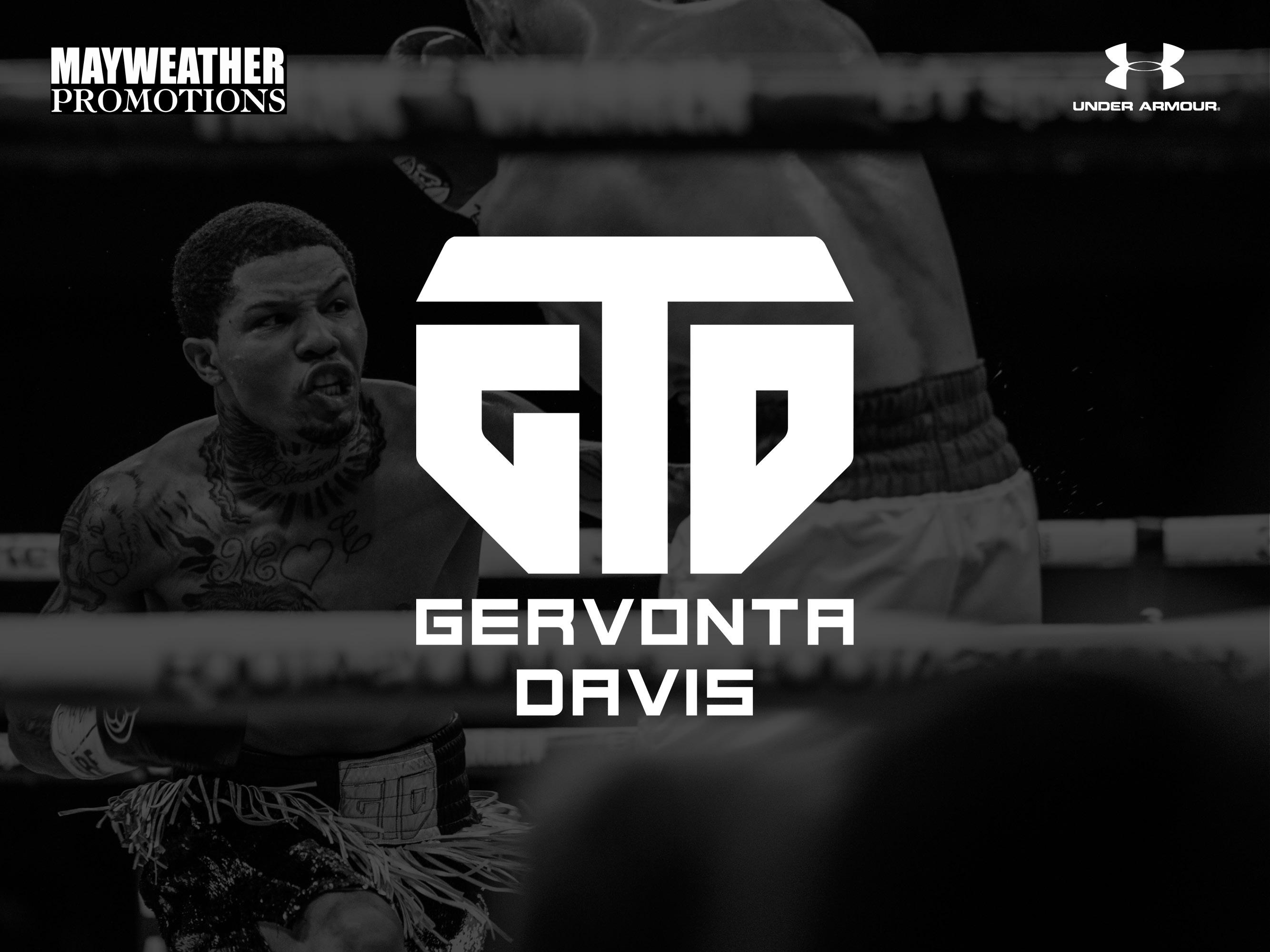 Gervonta 'Tank' Davis GTD Mayweather Promotions athlete logo design