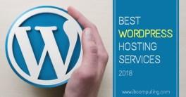 Best WordPress Hosting Services 2018