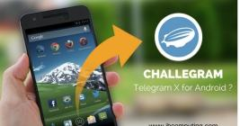 Challegram (Telegram X for Android)