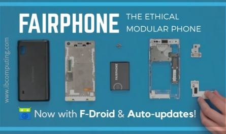 Modular Fairphone Now With F-Droid and Auto-Updates