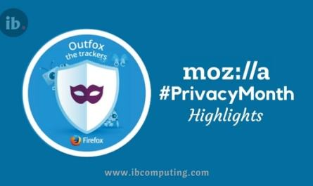 Mozilla Privacy Month Campaign Highlights