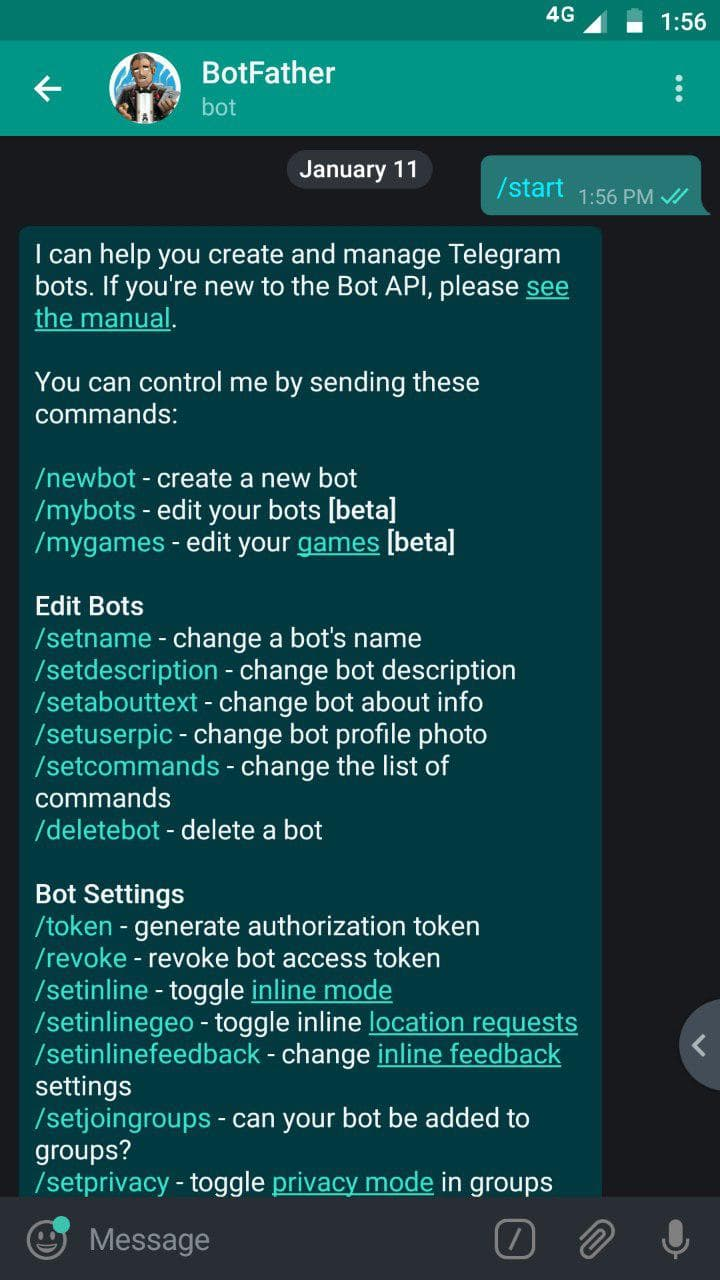 Setting up WhatsApp Telegram Bridge Using wat-bridge bot - IB Computing