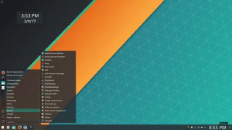 Manjaro KDE Modern Linux Distribution