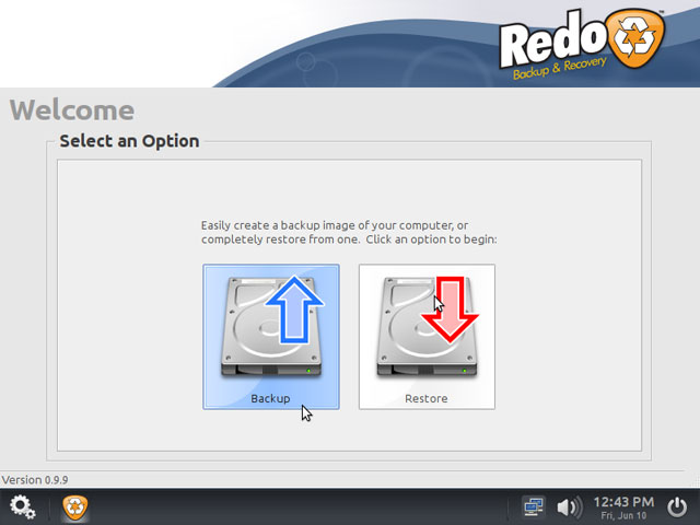 Redo Backup and Restore - Open Source Disk Cloning Software