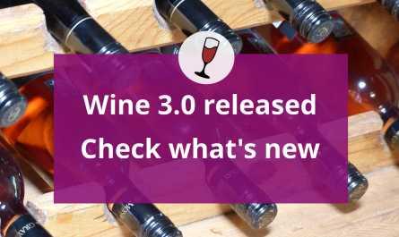 Wine 3.0 released