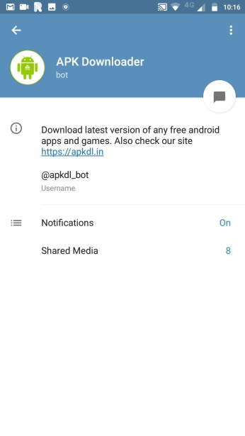 APK Downloader Bot