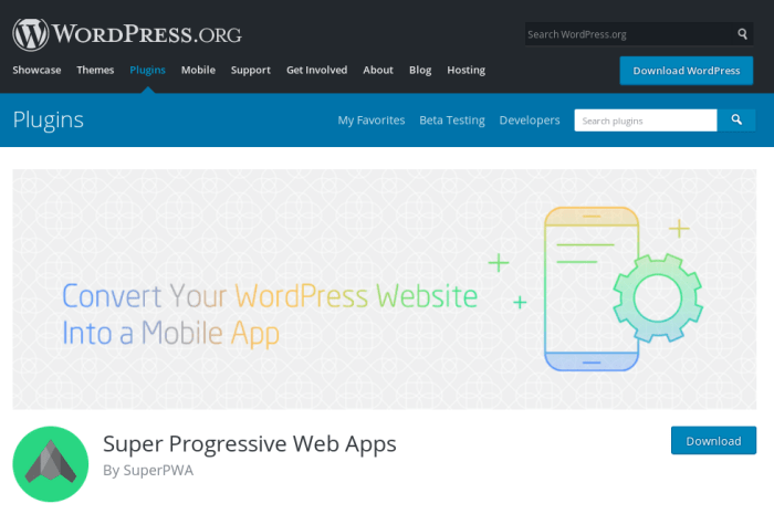 Convert your WordPress website into a Progressive Web App with WordPress plugin