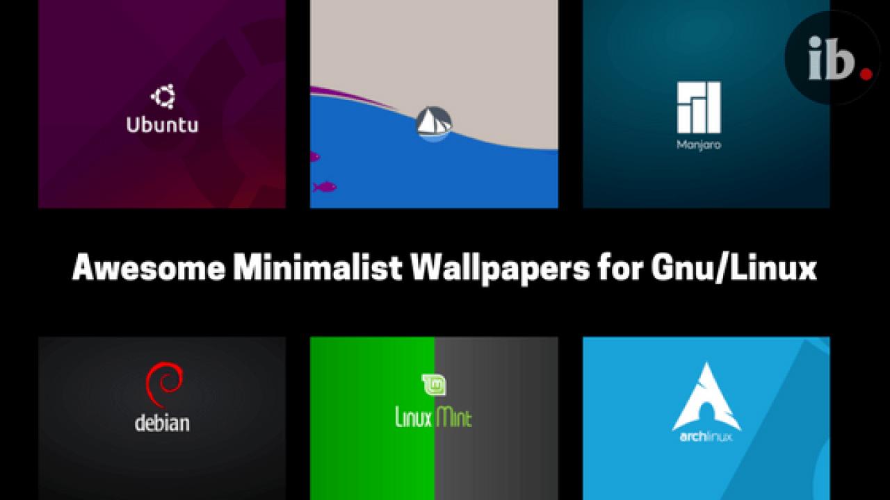10 Awesome Minimalist Linux Wallpapers Ib Computing