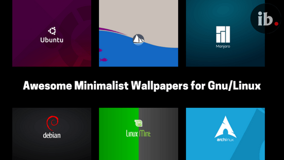 Ten Awesome Minimalist Linux Wallpapers