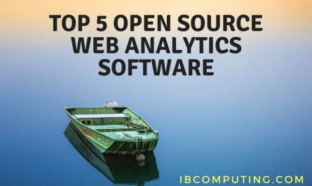 Top 5 Open Source Web Analytic Software