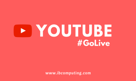 YouTube Go Live for live streaming directly from your browser