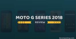 Moto G Series 2018 | IB Computing
