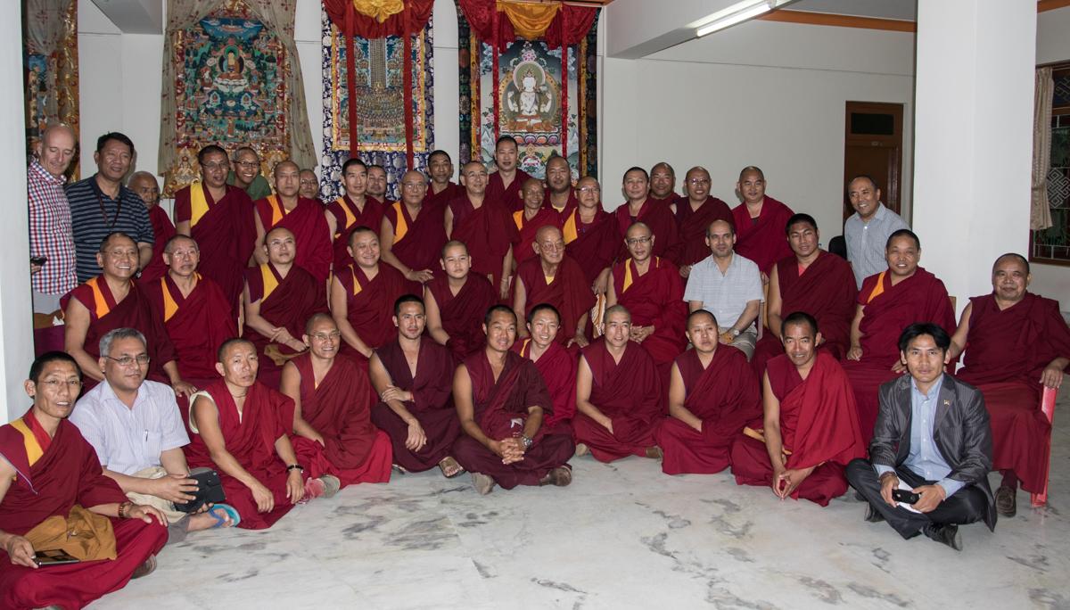 IBD Alumni at Drepung Loseling Monastery in South India