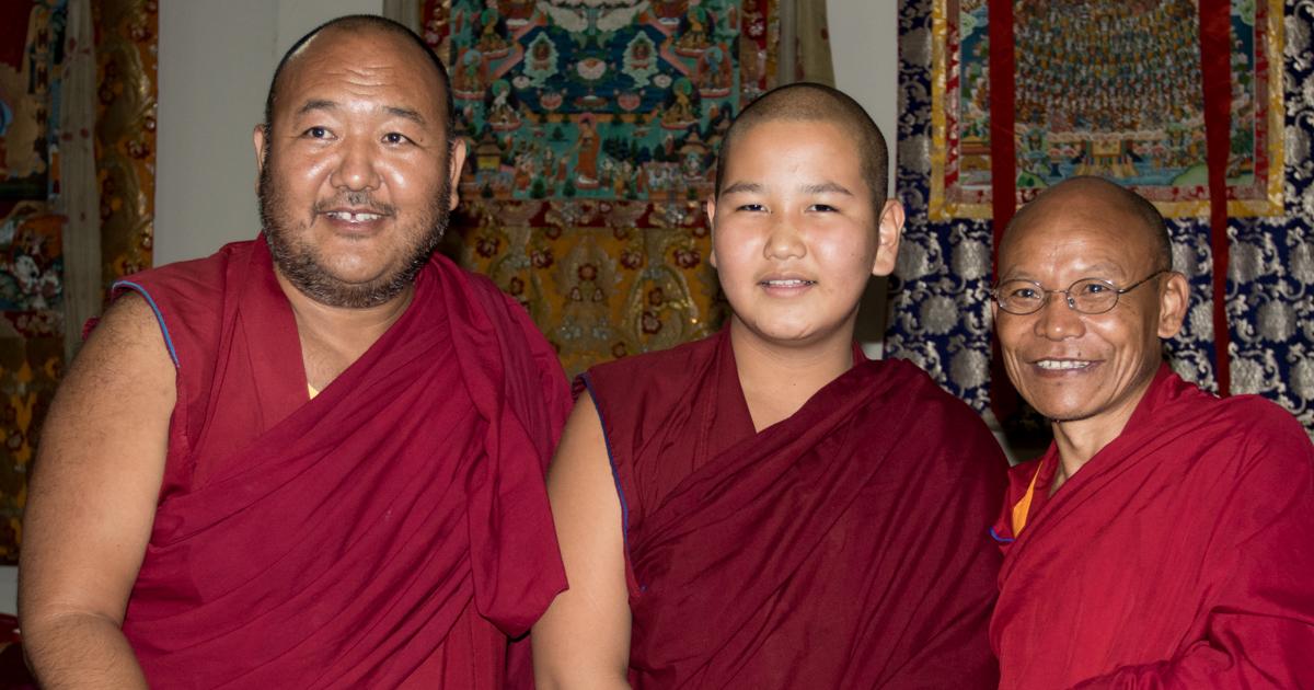 Geshe Lobsang Gyatso's Reincarnation