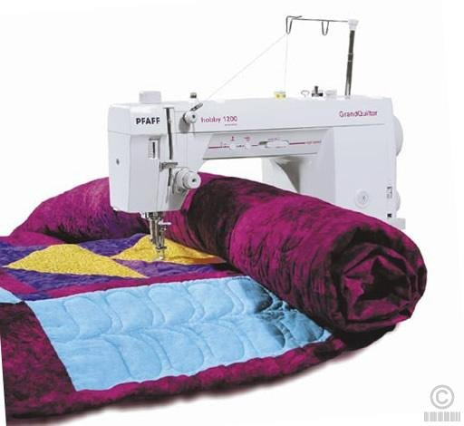 Pfaff GrandQuilter Hobby 1200- A Great Machine we Bought (1/2)