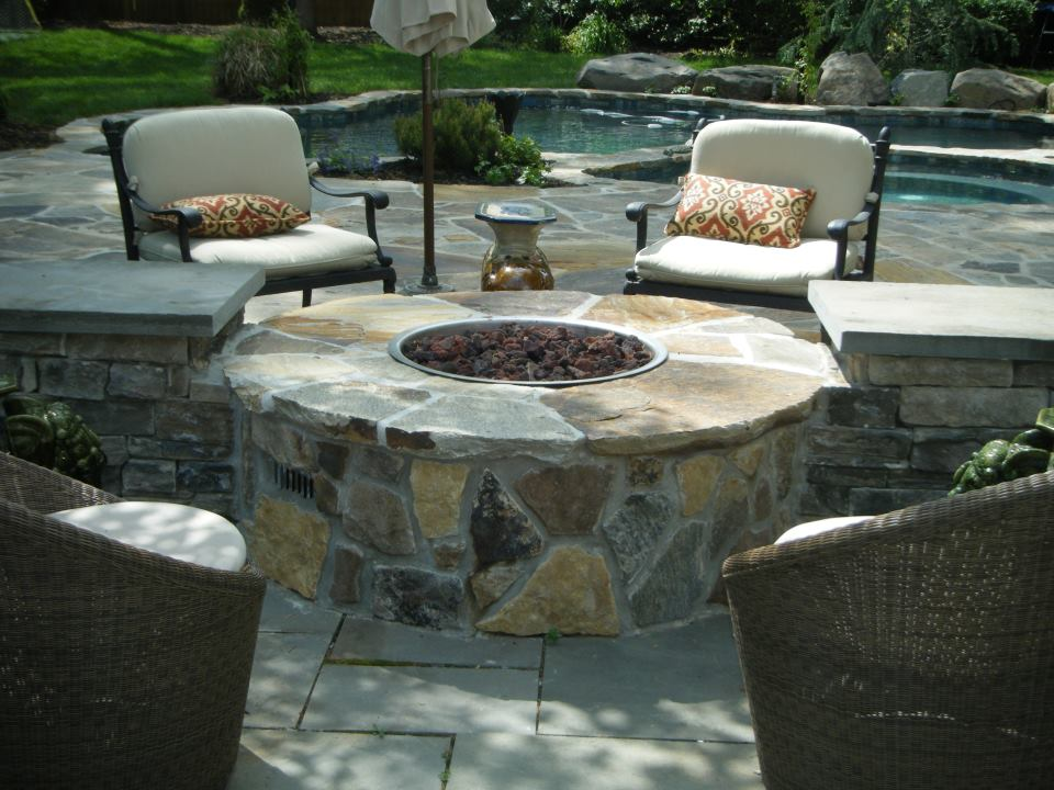 Fire Pits - United States - IBD Outdoor Rooms on Living Room Fire Pit id=89734