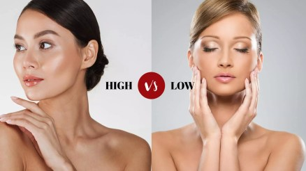 High Vs Low Cheekbones