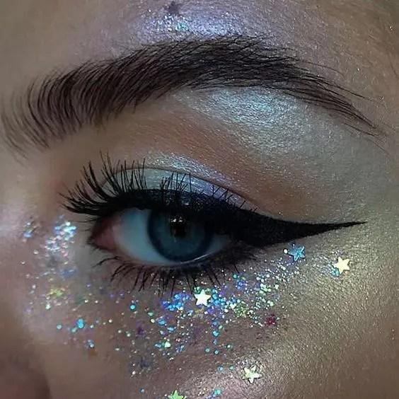 Sparkle makeup idea