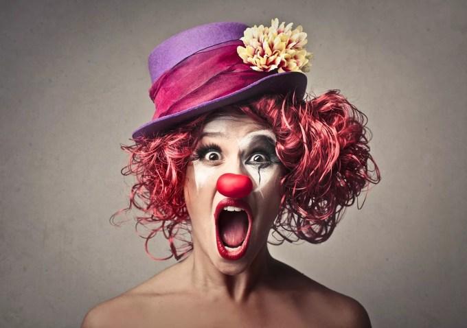 clown witch