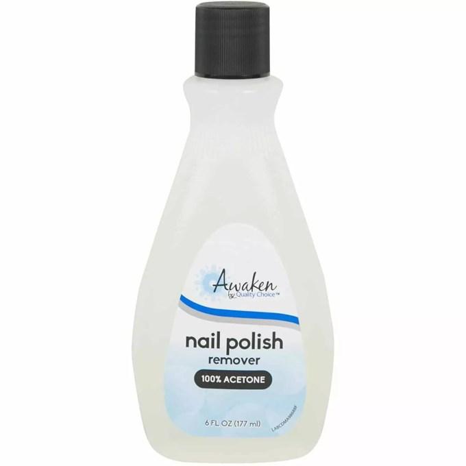 Acetone Nail Polish Remover 6oz