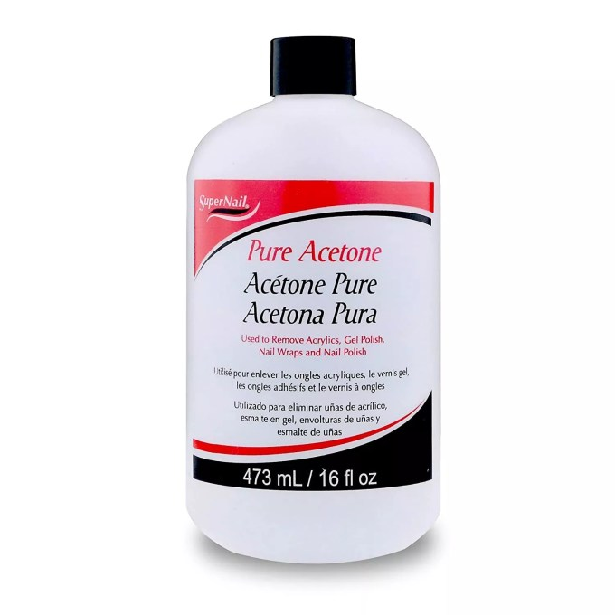 Super Nail Pure Acetone